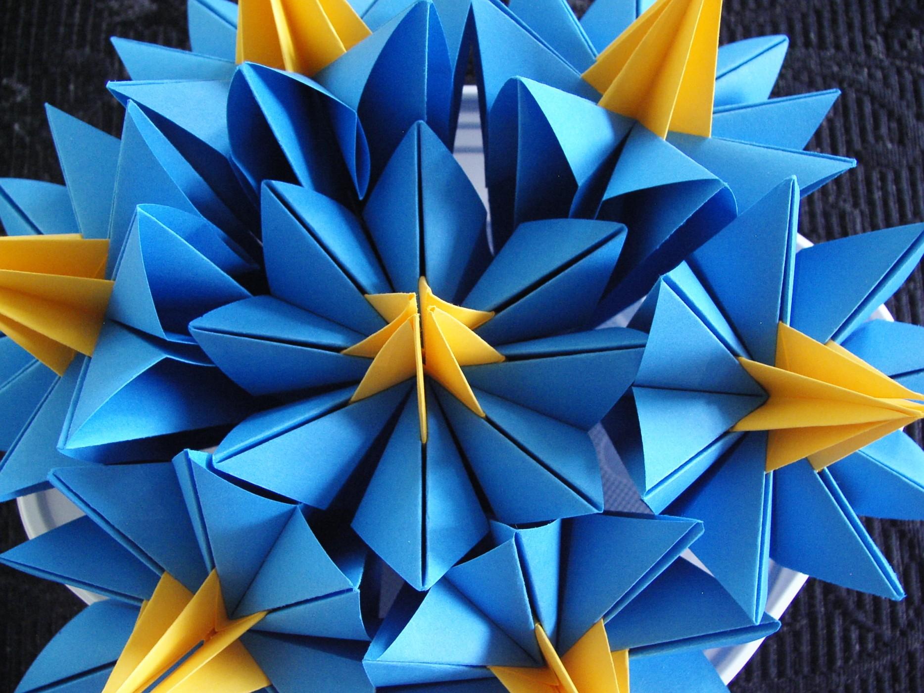 Origamiverksted med Ajaz
