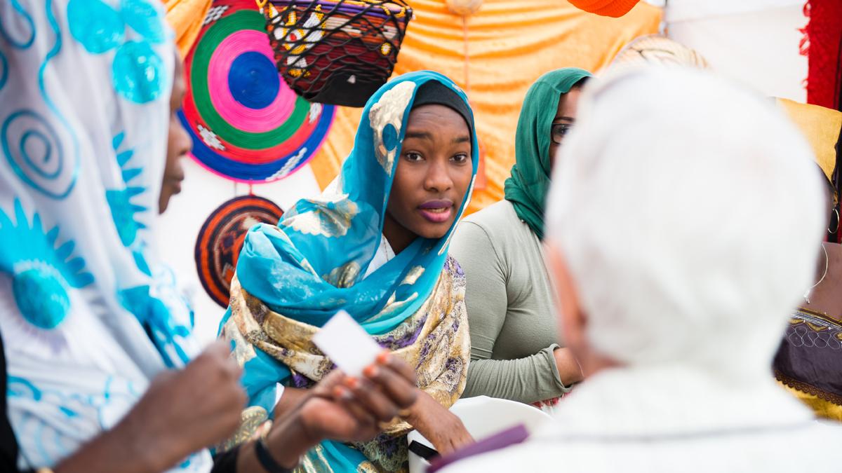 Sudansk bryllup!