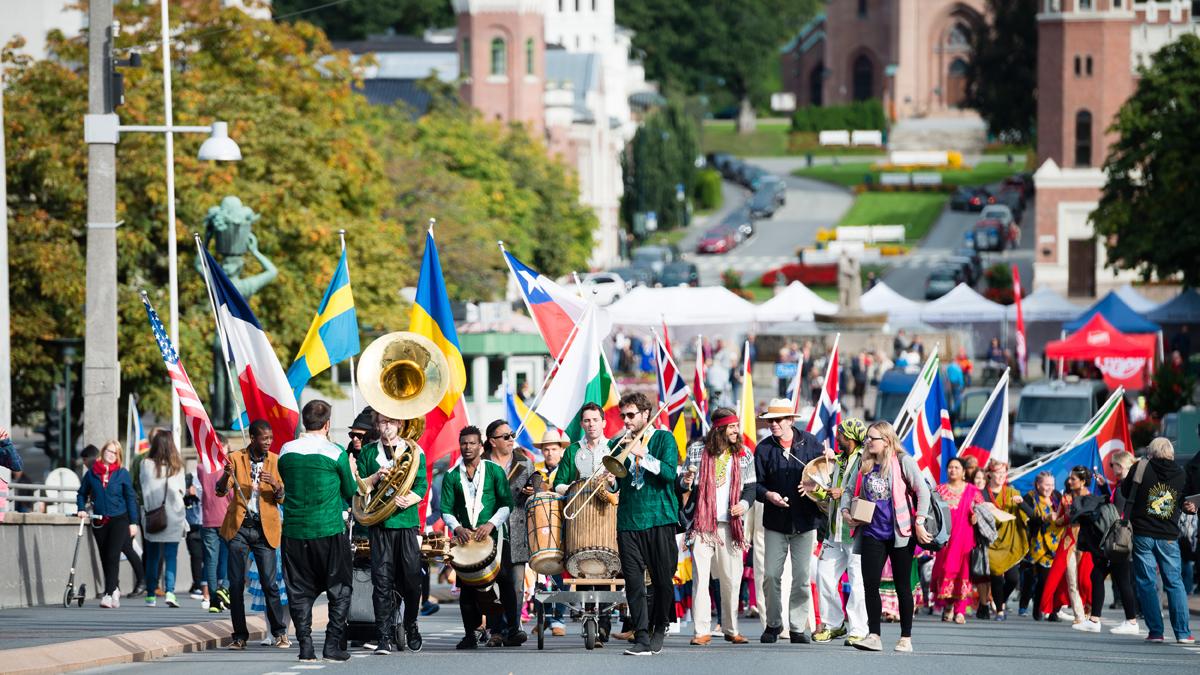 Festivalparaden!
