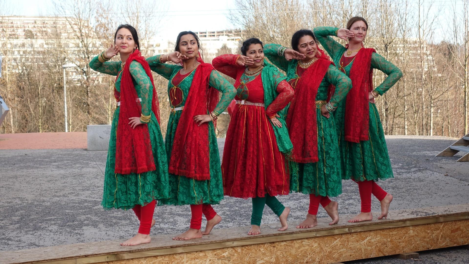 Indisk Bollywood-dans