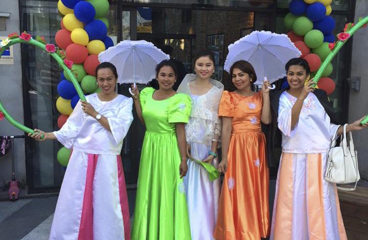Filippinsk dans