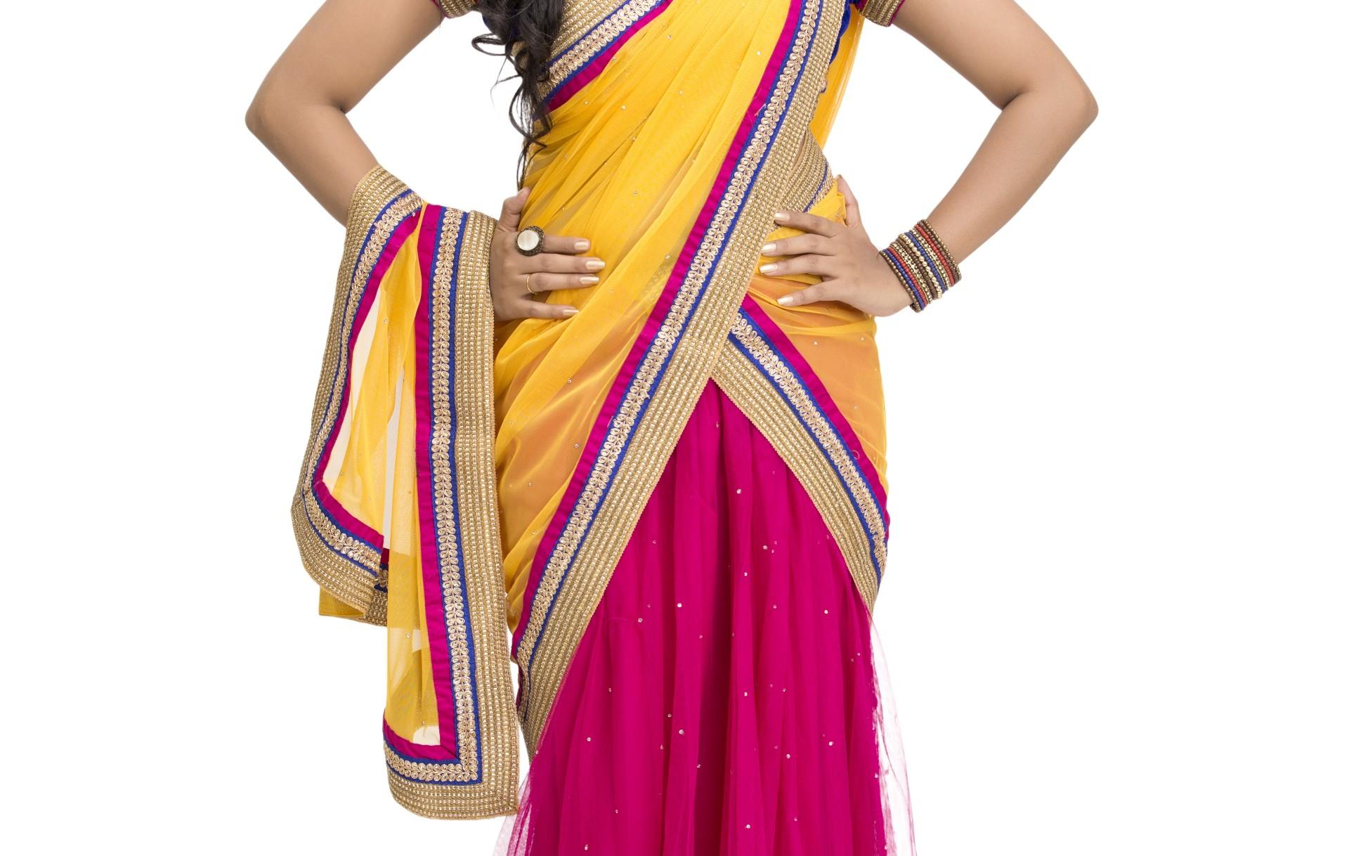 Prøv en sari!